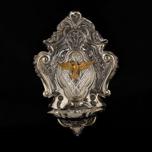 Silver Holy Water Stoups art. 852
