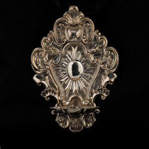 Acquasantiera in argento art. 857