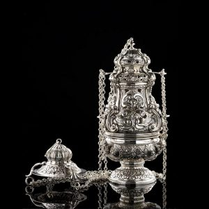 Silver Incense Burner art. 300