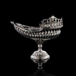Silver boat art. 403