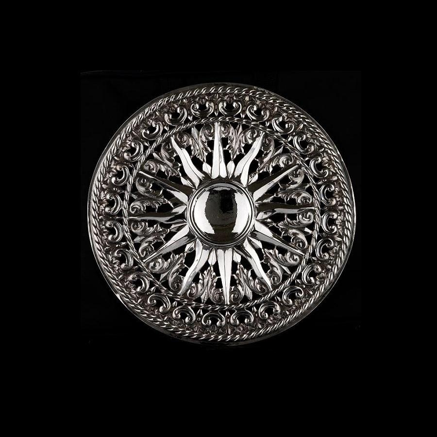 realizzazione Aureola in argento