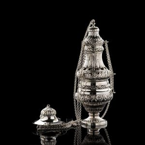 Silver Incense Burner art. 301