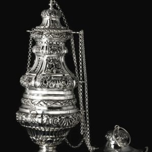 Silver Incense Burner art. 301/A