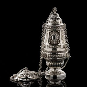 Silver Incense Burner art. 303