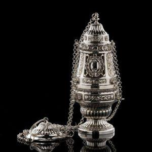 Incensiere in argento per messa art. 303